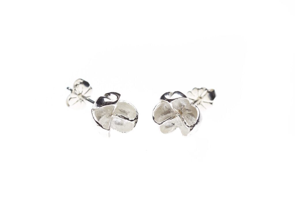 Allium Silver Earrings