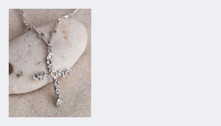 nice Crucifix in silver