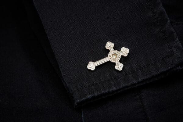 Sterling silver ssc cross