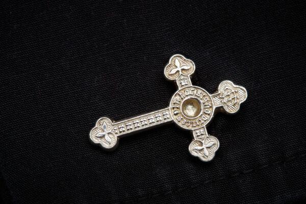 SSC sterling silver cross